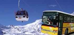 Bergbahn und Postauto gratis